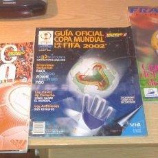 Coleccionismo deportivo: LOTE DE 3 ESPECIALES MUNDO DEPORTIVO MUNDIALES 1998 - 2002 - EUROCOPA 2000 EN MUY BUEN ESTADO. Lote 214945018
