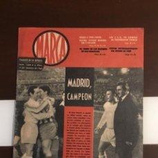 Coleccionismo deportivo: REAL MADRID CAMPEON DE LIGA 1963 PERIÓDICO -MARCA- SEMANARIO DE LOS DEPORTES, Nº 1059, 19 MARZO DE 1. Lote 214959897
