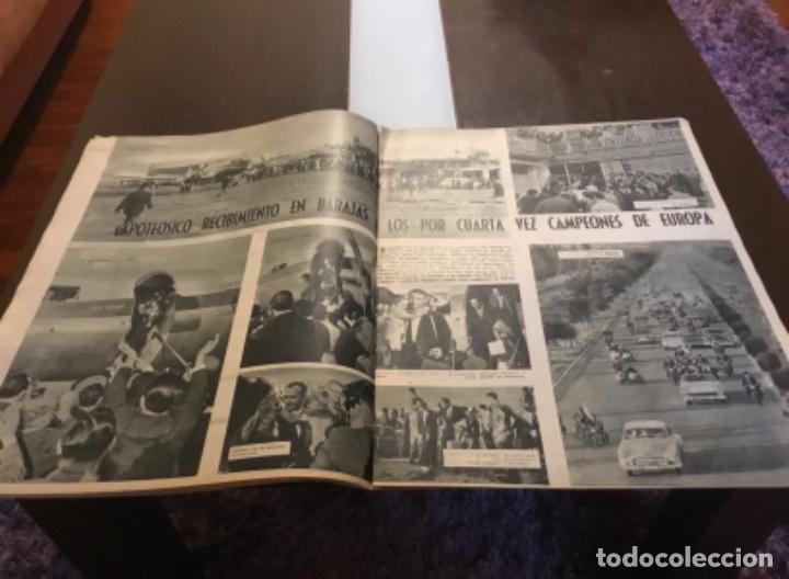 Coleccionismo deportivo: MARCA - Nº 862 - 9 JUNIO 1959 - D. SANTIAGO BERNABEU ALZA LA CUARTA COPA DE EUROPA CONSECUTIVA - Foto 4 - 214960323