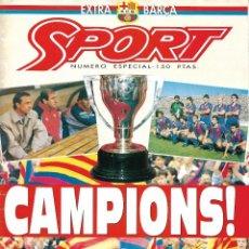 Collezionismo sportivo: BARÇA: SPORT. ! CAMPIONS ¡. Lote 215072337
