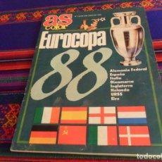 Collectionnisme sportif: AS COLOR Nº 123 GUÍA EUROCOPA 88 ALEMANIA EURO 1988. MUY BUEN ESTADO Y RARA.. Lote 215095032