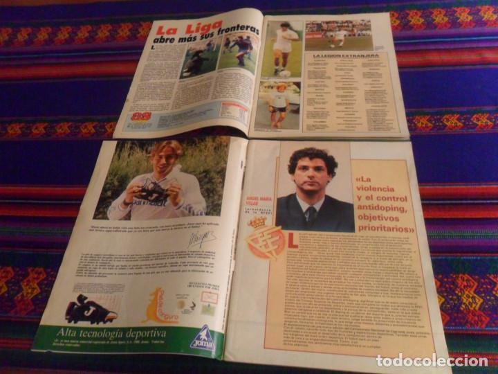 Coleccionismo deportivo: AS COLOR Nº 136 GUÍA DE LA LIGA 1988 89. REGALO Nº 291 GUÍA DE LA LIGA 1991 92. BUEN ESTADO. - Foto 2 - 215095601