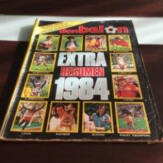 Coleccionismo deportivo: EXTRA CON BALÓN RESUMEN 1984. Lote 215188600