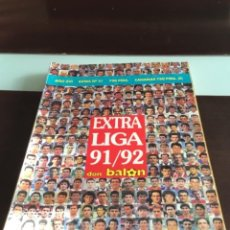 Coleccionismo deportivo: EXTRA LIGA DON BALON 1991 92. Lote 215191696