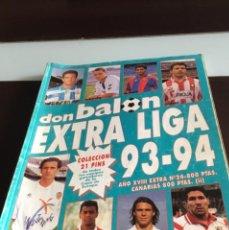 Coleccionismo deportivo: EXTRA LIGA DON BALON 1993 94. Lote 215192036