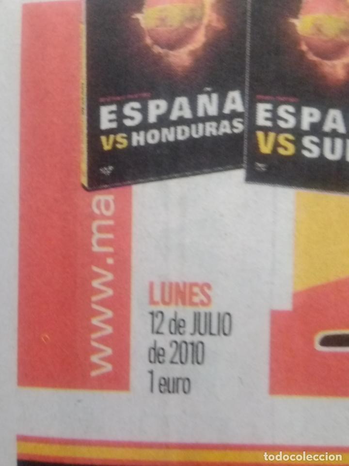 Coleccionismo deportivo: MARCA PORTADA ESPAÑA GANA MUNDIAL DE FUTBOL 2010 - Foto 2 - 215411043