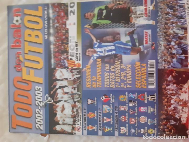 TODO FÚTBOL DON BALON LIGA 2002-2003 (Coleccionismo Deportivo - Revistas y Periódicos - Don Balón)