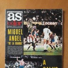 Coleccionismo deportivo: AS COLOR N° 208. MIGUEL ANGEL DE LA GUARDA. POSTER CENTRAL GRANADA C.F.. Lote 216371271