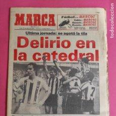 Coleccionismo deportivo: DIARIO MARCA ATHLETIC CLUB BILBAO CAMPEON LIGA 83/84 - DELIRIO EN LA CATEDRAL - FUTBOL 1983/1984. Lote 216472075