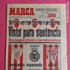 Collectionnisme sportif: DIARIO MARCA PREVIO ULTIMA JORNADA LIGA 83/84 ATHLETIC CLUB BILBAO CAMPEON - FUTBOL 1983/1984. Lote 216472417