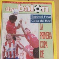 Colecionismo desportivo: DON BALÓN. 819. COPA DEL ATLETI DE 1991 AT. MADRID CAMPEÓN LA PRIMERA DE GIL. Lote 216535732