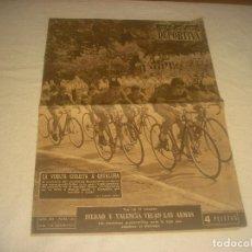 Coleccionismo deportivo: VIDA DEPORTIVA N. 520 , SEPTIEMBRE 1955 . VUELTA CICLISTA A CATALUÑA.. Lote 216617336