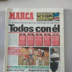 Coleccionismo deportivo: DIARIO MARCA 30/8/1984 TODOS CON INDURAIN. Lote 216785488