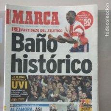 Coleccionismo deportivo: DIARIO MARCA 31/10/1999 BAÑO HISTÓRICO. Lote 216785676