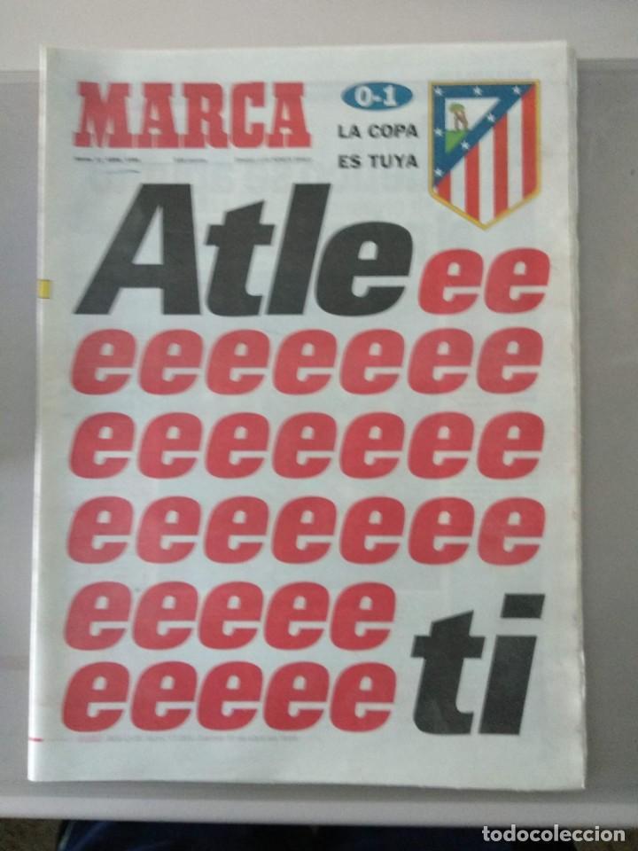 DIARIO MARCA 11/04/1998 ATLEEEEEEETI LA COPA ES TUYA (Coleccionismo Deportivo - Revistas y Periódicos - Marca)