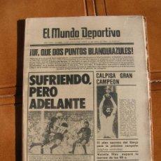 Coleccionismo deportivo: DIARIO DEPORTIVO. Lote 216835032