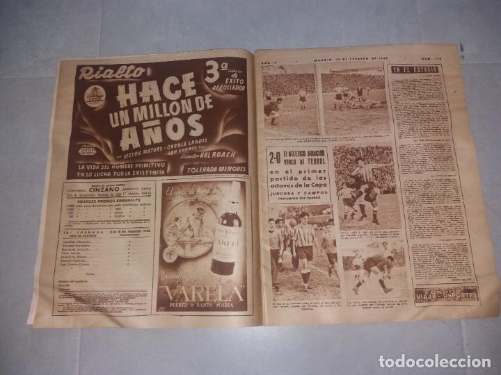 Coleccionismo deportivo: Periódico Marca. Bustos (Sevilla). Suplemento gráfico de los deportes, Nº116 (1945) - Foto 3 - 216893911