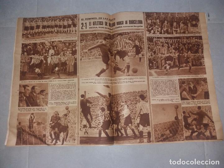 Coleccionismo deportivo: Periódico Marca. Bustos (Sevilla). Suplemento gráfico de los deportes, Nº116 (1945) - Foto 5 - 216893911