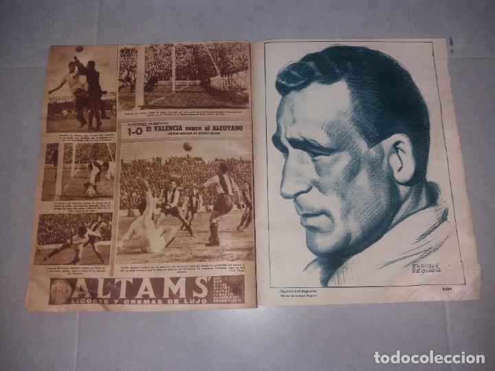 Coleccionismo deportivo: Periódico Marca. Bustos (Sevilla). Suplemento gráfico de los deportes, Nº116 (1945) - Foto 7 - 216893911
