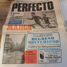 Coleccionismo deportivo: MARCA, 1 DICIEMBRE 1977, YUGOSLAVIA, CLASIFICACION MUNDIAL DE ARGENTINA. Lote 216973865