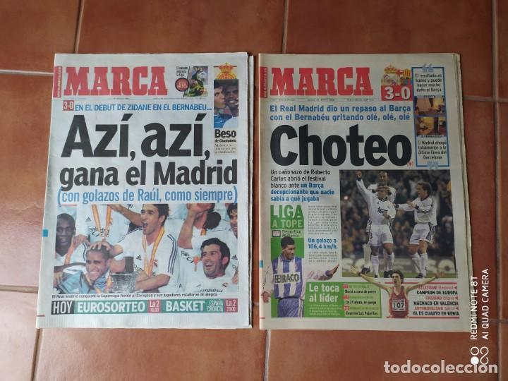DIARIO MARCA, FEBRERO 2000 Y AGOSTO 2001 (Coleccionismo Deportivo - Revistas y Periódicos - Marca)