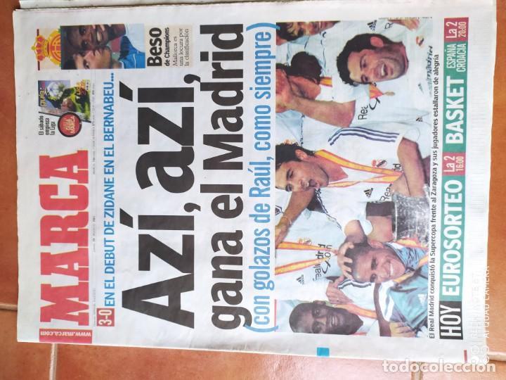 Coleccionismo deportivo: Diario marca, febrero 2000 y agosto 2001 - Foto 2 - 216992882