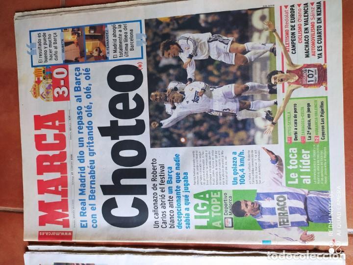 Coleccionismo deportivo: Diario marca, febrero 2000 y agosto 2001 - Foto 3 - 216992882