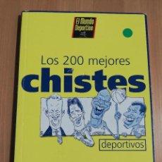 Coleccionismo deportivo: LOS 200 MEJORES CHISTES DEPORTIVOS (EL MUNDO DEPORTIVO). Lote 217291543