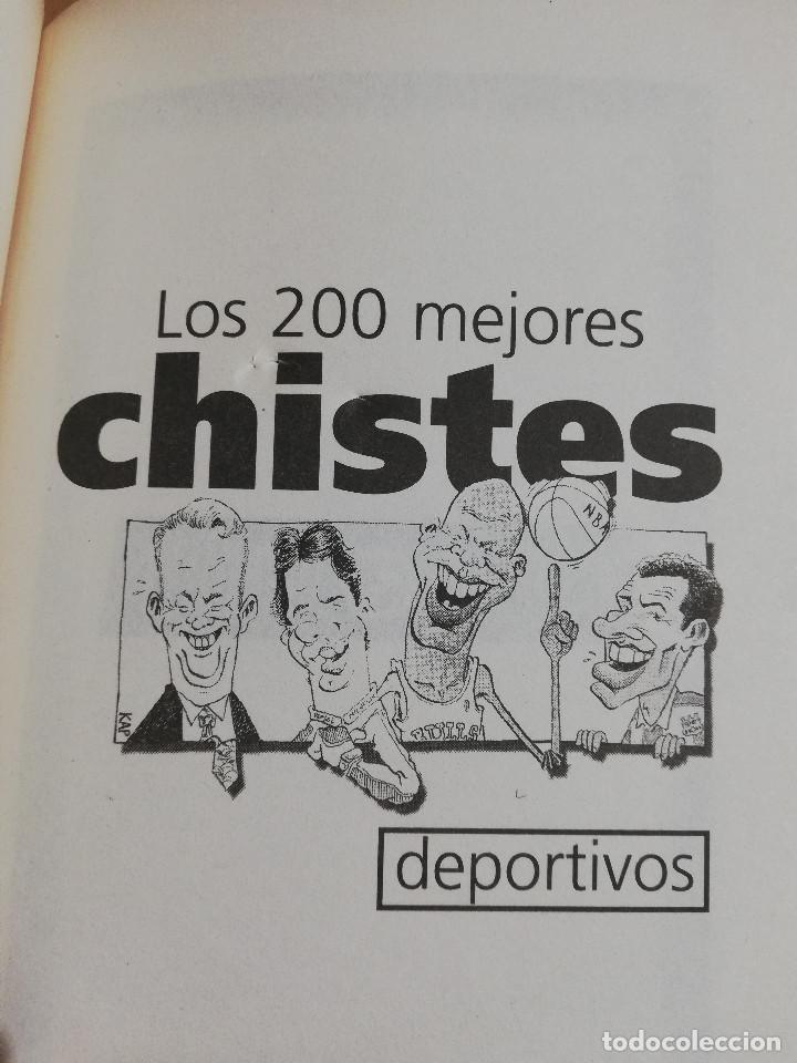 Coleccionismo deportivo: LOS 200 MEJORES CHISTES DEPORTIVOS (EL MUNDO DEPORTIVO) - Foto 2 - 217291543