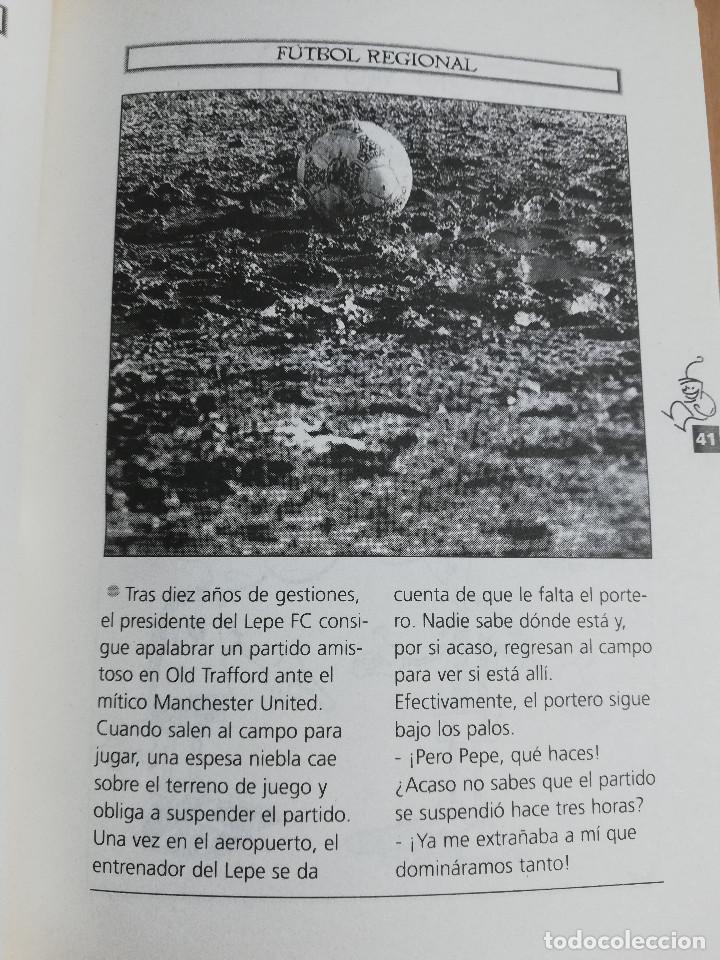 Coleccionismo deportivo: LOS 200 MEJORES CHISTES DEPORTIVOS (EL MUNDO DEPORTIVO) - Foto 8 - 217291543
