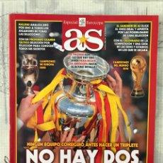 Coleccionismo deportivo: GUÍA FÚTBOL AS EUROCOPA 2012 POLONIA Y UCRANIA - ESPAÑA EURO 2012 ALBUM SPAIN. Lote 217437708