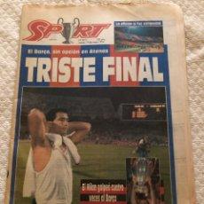Colecionismo desportivo: 19-RESERVADO 5-1994 FC BARCELONA MILÁN AC FINAL COPA EUROPA. Lote 217444826