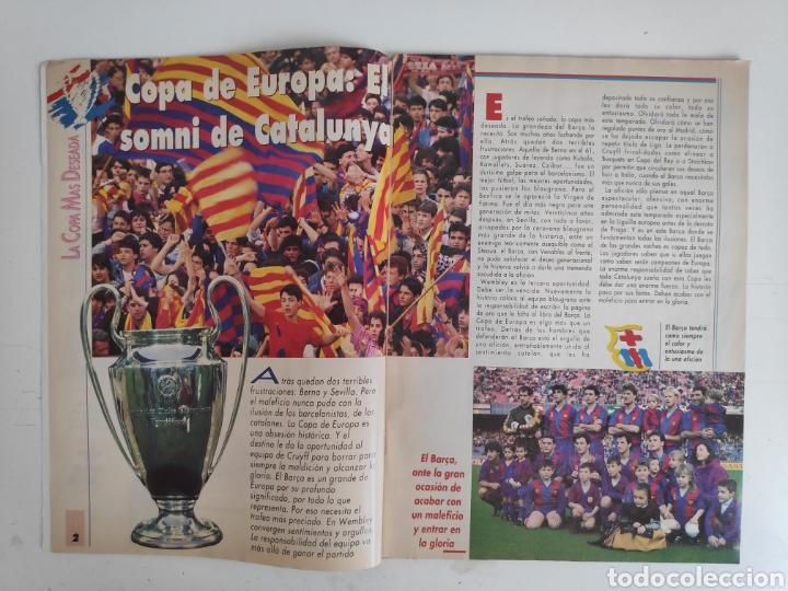 Coleccionismo deportivo: Revista Sport. La Copa Soñada. FC. Barcelona. 1992 - Foto 2 - 217525247