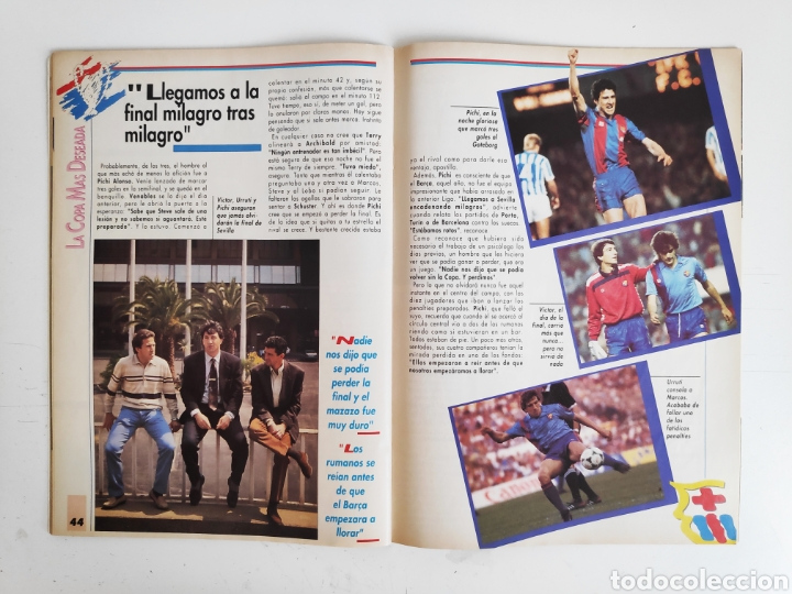 Coleccionismo deportivo: Revista Sport. La Copa Soñada. FC. Barcelona. 1992 - Foto 5 - 217525247