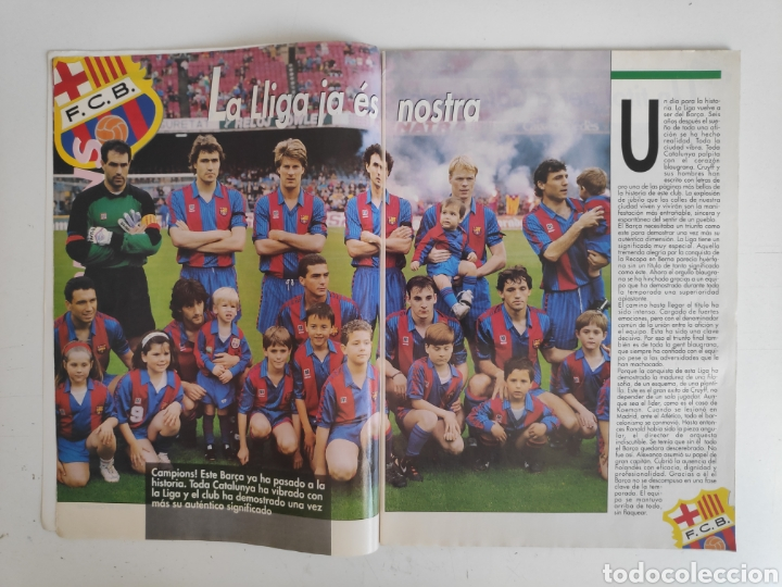 Coleccionismo deportivo: Revista Sport. Campions. FC. Barcelona. Suplemento extra 1992 - Foto 2 - 217525523