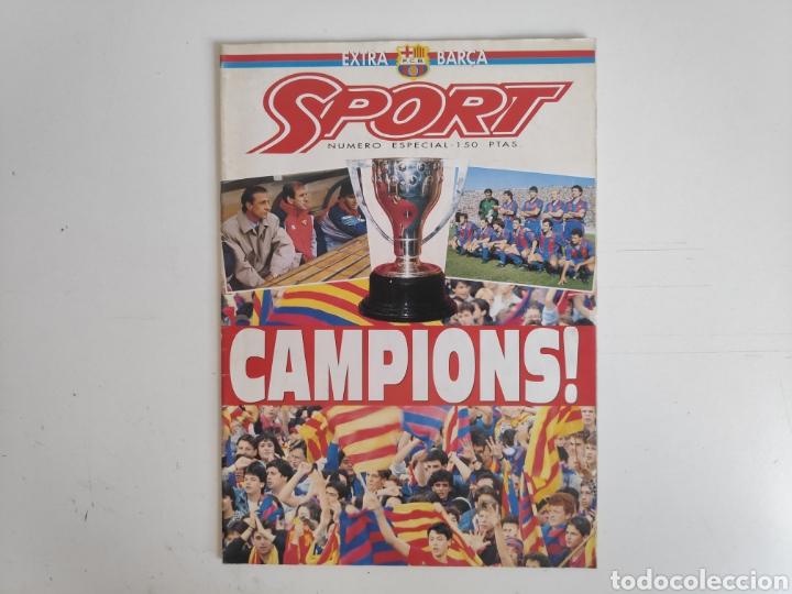 REVISTA SPORT. CAMPIONS. FC. BARCELONA. SUPLEMENTO EXTRA 1992 (Coleccionismo Deportivo - Revistas y Periódicos - Sport)