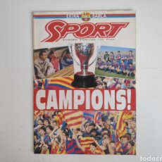 Coleccionismo deportivo: REVISTA SPORT. CAMPIONS. FC. BARCELONA. SUPLEMENTO EXTRA 1992. Lote 217525523
