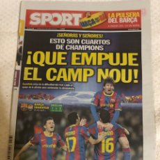 Coleccionismo deportivo: 6-4-2011 REAL MADRID TOTTENHAM FC BARCELONA SHAKHTAR. Lote 217872717