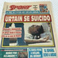 Coleccionismo deportivo: 22-7-1992 URTAIN / JUEGOS OLIMPICOS. Lote 218110283