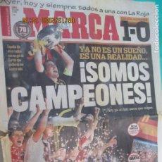 Coleccionismo deportivo: MARCA PERIODICO 30-06-2008 - !SOMOS CAMPEONES ¡ESPAÑA 1 ALEMANIA 0 CAMPEONES DE LA EUROCOPA. Lote 218144526
