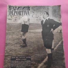 Coleccionismo deportivo: VIDA DEPORTIVA Nº 179 1949 BARÇA 4-1 SABADELL - MARCOS AURELIO - ZAMORA LIGA 48/49. Lote 218148991