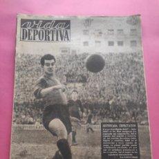 Coleccionismo deportivo: VIDA DEPORTIVA Nº 180 1949 NASTIC 3-1 ATHLETIC - OVIEDO 3-0 ESPANYOL - LIGA 48/49 - MARIANO CAÑARDO. Lote 218149348