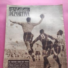 Coleccionismo deportivo: VIDA DEPORTIVA Nº 182 1949 SABADELL 2-2 ATHLETIC - GIRONA 5-1 LEVANTE LIGA 48/49 - MARIANO CAÑARDO. Lote 218149992