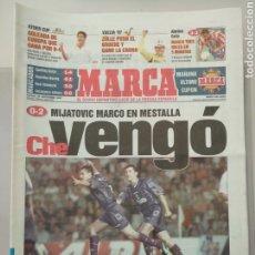 Coleccionismo deportivo: DIARIO MARCA 28/09/1997 MIJATOVIC MARCO EN MESTALLA. Lote 218191488
