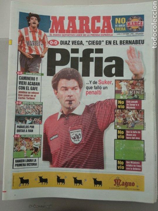 DIARIO MARCA 6/10/1997 PIFIA (Coleccionismo Deportivo - Revistas y Periódicos - Marca)