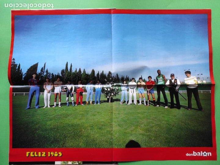 Coleccionismo deportivo: REVISTA DON BALON EXTRA 1984 - RESUMEN DEPORTIVO AÑO 84 - SUPER POSTER - Foto 4 - 218201762