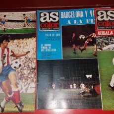 Coleccionismo deportivo: LOTE REVISTAS AS COLOR 1971. Lote 218319863