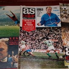 Coleccionismo deportivo: LOTE REVISTAS AS COLOR 1972. Lote 218320345