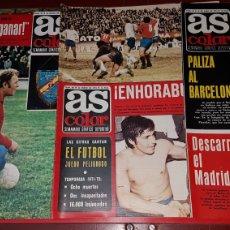 Coleccionismo deportivo: LOTE REVISTAS AS COLOR 1973. Lote 218320862
