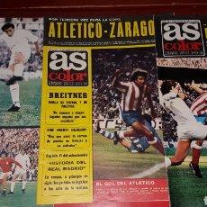 Coleccionismo deportivo: LOTE REVISTAS AS COLOR 1974. Lote 218321657